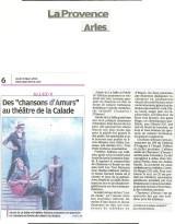 La Provence Chansons! d'Amurs!